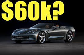2014 chevrolet corvette stingray price corvette convertible price revealed corvette