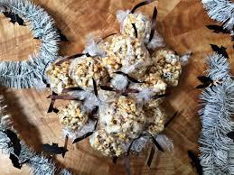 popcorn for halloween halloween popcorn balls violet meyer