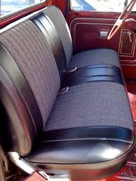 How To Sew Car Upholstery Custom Bench Seat Upholstery Wagoneer Com Forums U2022 View