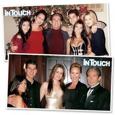 in touch reveals never before seen family photos of robert and