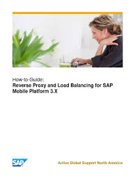 how to guide for reverse proxy and load balancing in sap mobile