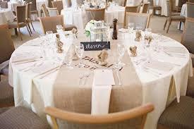 wedding reception table runners burlap runner on round table recycled burlap wedding reception table