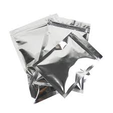where to buy mylar bags 200pcs lot glossy silver aluminum foil zip lock mylar bag flat