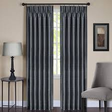Sheer Pinch Pleat Curtains Achim Importing Co Solid Sheer Pinch Pleat Single Curtain