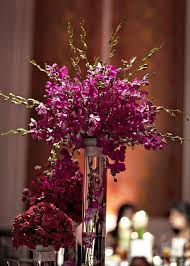 Flower Centerpieces For Wedding - best 25 purple flower centerpieces ideas on pinterest purple