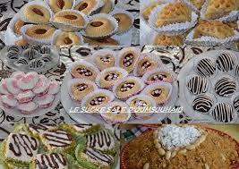 cuisine alg駻ienne gateaux gâteaux algériens modernes de naissance le sucré salé d oum souhaib