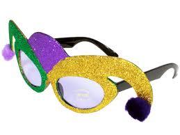 mardi gras glasses jester hat mardi gras purple lens sunglasses green purple gold a