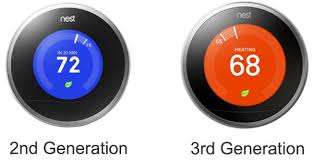 amazon nest thermostat black friday nest thermostat review 2nd and 3rd generation