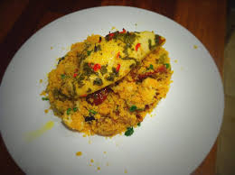cuisine polenta lemon chicken with polenta couscous dining recipes food