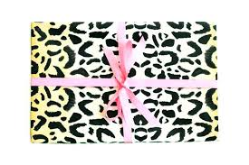 leopard wrapping paper leopard print office supplies leopard office supplies leopard
