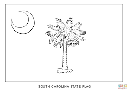 flag of south carolina coloring page free printable coloring pages