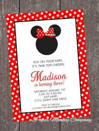 red minnie mouse baby shower invitations invitations girls