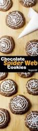 chocolate spider web cookies tworaspberries