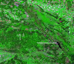 Chernobyl Map Chernobyl Ukraine Earthshots Satellite Images Of Environmental