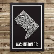 Washington Dc Neighborhoods Map by Boston Neighborhood Typography City Map Print U2013 Flying Junction Co