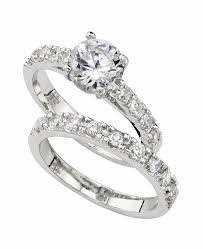 diamond rings zirconia images Charter club ring set cubic zirconia engagement 3 ct t w tif