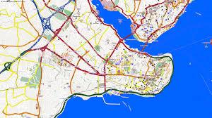 Istanbul Turkey Map City Maps Istanbul