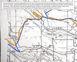 Oregon River Map by Thebarlowroad Com