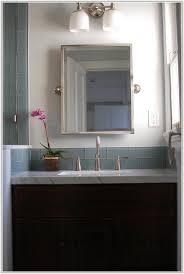 Gray Glass Subway Tile Backsplash - light grey subway tile backsplash kitchen tiles home design