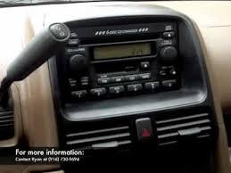 Honda Crv Interior Pictures 2004 Honda Crv Interior Youtube