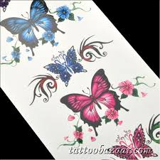 butterfly pattern paper sticker multicolored