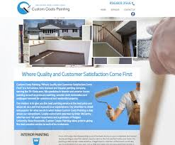 new website design custom coats painting south jersey techies llc