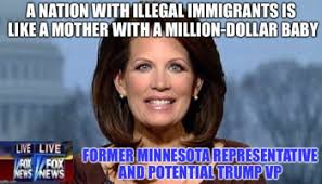 Michele Bachmann Meme - donald trump names michele bachmann his secretary of state