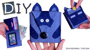 No Sew Project How To - how to make a raccoon wallet u2013 diy raccoon wallet out of old jeans