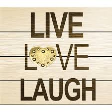 Love Laugh Live Metal Quotes Live Love Laugh Walmart Com