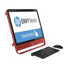 ordinateur de bureau tactile tout en un hp tout en un envy beats 23 n040nf ecran 23 hd tactile top