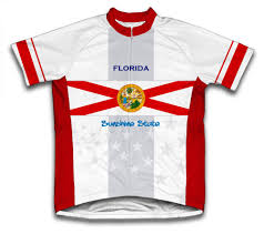 Florida Flag Facts Florida Flag Cycling Jersey Scudopro Store