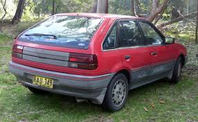 ford laser hatch best photos and information of modification