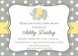 unisex baby shower elephant baby shower invitation jungle invitation elephant