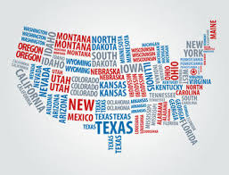 map usa big as partisan rancor rises states that back a loser will be