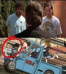 Pulp Fiction Memes - pulp fiction cameo kill la kill pulp fiction know your meme