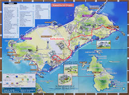 Map Of South Korea Yeongjong Island Tourist Map Yeongjong Island South Korea