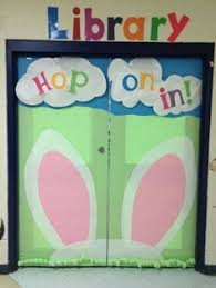 Easter Door Decorations To Make by My Book Monster Book Return Dynamic Library Ideas