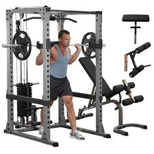 Weights And Bench Package Best 25 Body Solid Power Rack Ideas On Pinterest Squat Stands