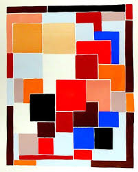 Mondrian Collection Rugs Design In The Style Of Mondrian Possibly For A Rug From