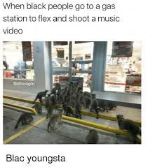 Gas Station Meme - when black people go to a gas station to flex and shoot a music