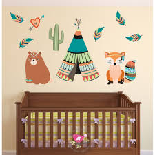 Farm Animal Wall Stickers Woodland Wall Stickers Enchanted Interiors