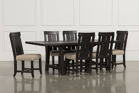 jaxon 7 piece rectangle dining set w wood chairs living spaces