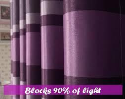 Blackout Purple Curtains Purple Blackout Curtains Purple Polka Dots Insulated
