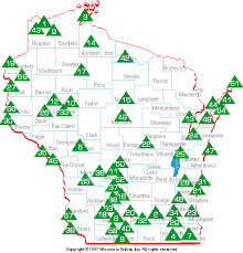 high cliff state park map wisconsin attractions state parks forests and recreation areas