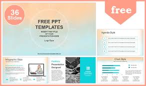 Pastel Watercolor Painted Powerpoint Template Powerpoint Theme