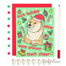 Funniest Doge Meme - funny christmas card doge christmas card shiba inu holiday