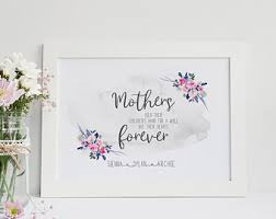mother day quote mothers day quote etsy