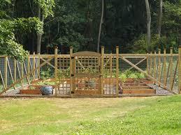 Garden Fence Ideas Design Wondrous Design Ideas Vegetable Garden Fence Picture Gardening