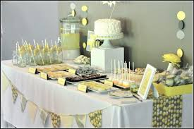 yellow and gray baby shower baby shower decorations yellow and gray baby shower diy