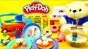 pate a modeler cuisine pâte à modeler play doh la cuisine géante des personnages pizza et